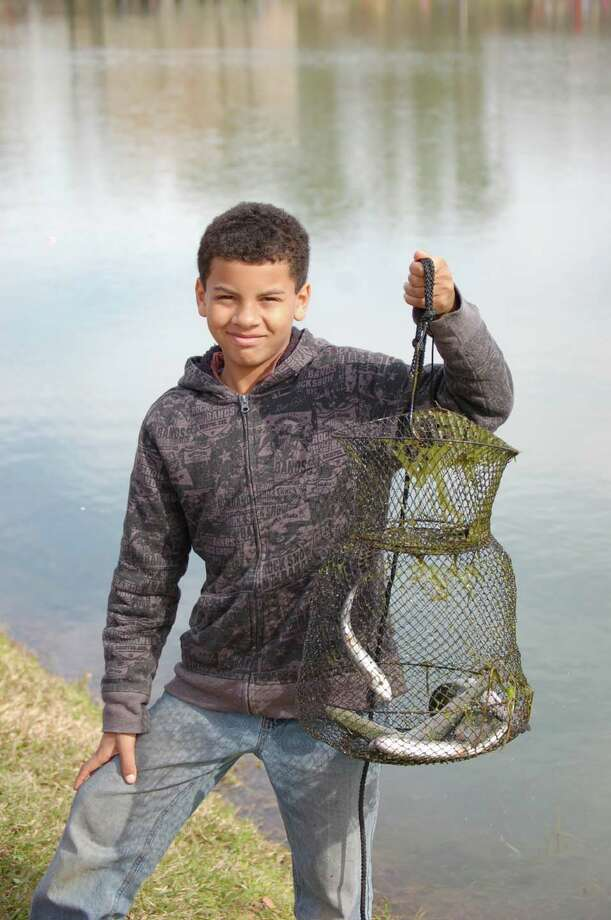 Basket full of fun catching trout at the 12th Annual Youth Trout Derby