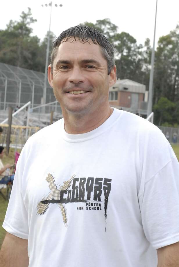 Foster boys cross country coach Mike Hale during the Humble pre-regional cross country meet at Atascocita High School Saturday 9/15/12. Photo  by Tony Bullard. Photo:  Tony Bullard 2012, Freelance Photographer / © Tony Bullard & the Houston Chronicle