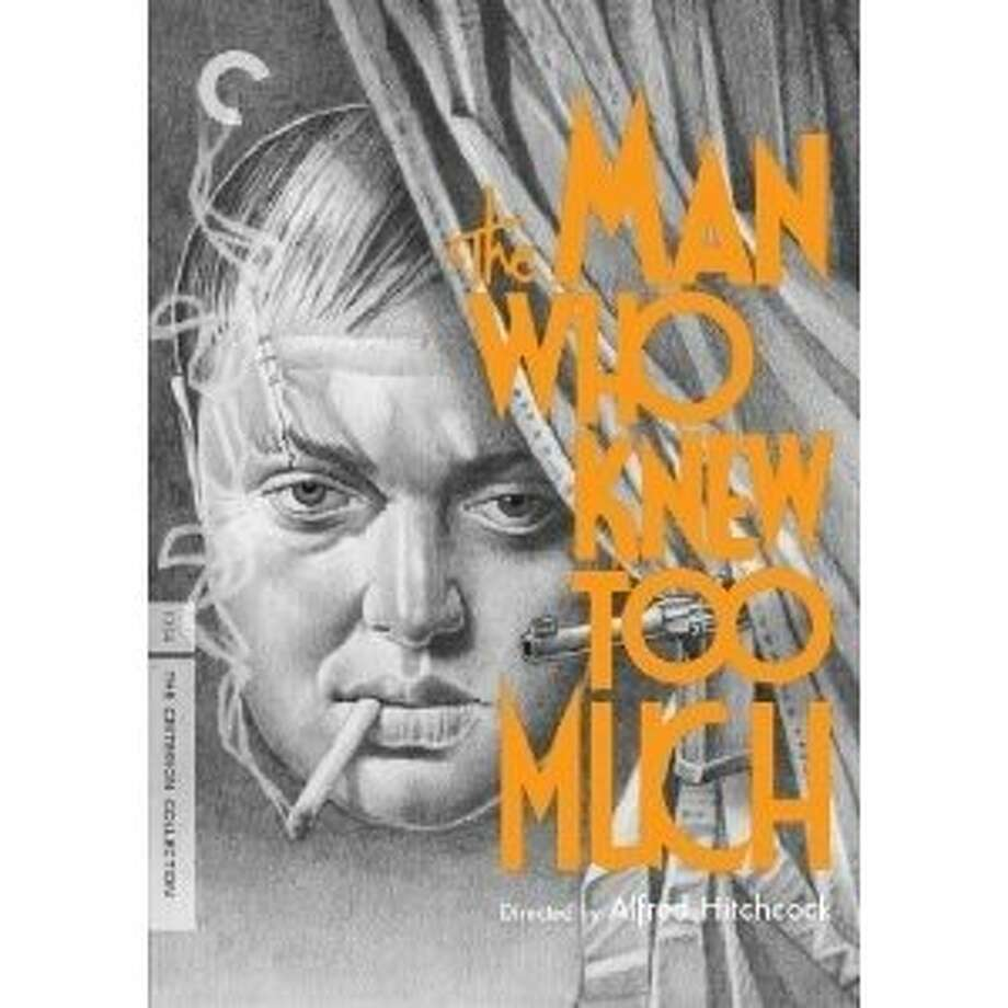 "DVD cover: ""The Man Who Knew Too Much"" (1934) Photo: Criterion Collection, Amazon.com"