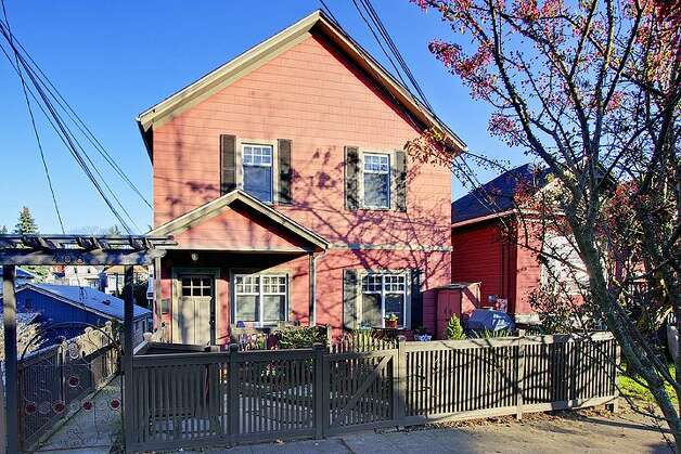 The Central Area offers charming old houses convenient to Capitol Hill and downtown Seattle. Here are three homes listed there for $500,000 to $550,000, starting with 406 21st Ave. The 2,340-square-foot house, built in 1900, has four bedrooms and 3.25 bathrooms -- including a separate, lower-level guest quarters -- exposed-wood railings, French doors and front and back decks on a 1,495-square-foot lot. It's listed for $519,950. Photo: Courtesy Dorothy Driver/Windermere Real Estate