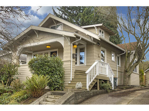 Next, listed for $520,000, is 337 26th Ave. The 2,580-square-foot house, built in 1914, has four bedrooms, 1.75 bathrooms, exposed wood moldings, a skylight, a family room, a front porch, a back deck and a patio on a 4,400-square-foot lot. Photo: Gregory White, Courtesy Diane Lancaster/Windermere Real Estate / (C) 2012 Gregory White