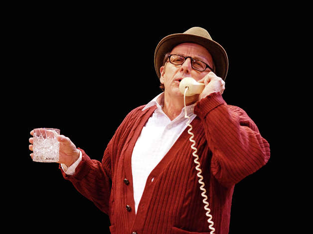 "Jaston Williams plays Truman Capote in the Zach Theatre staging of ""Tru."" Courtesy Kirk Tuck"