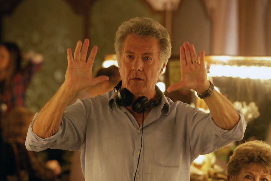Director DUSTIN HOFFMAN on the set of QUARTET Photo: Kerry Brown / © 2012 The Weinstein Company. All Rights Reserved.