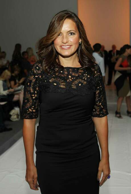 Mariska Hargitay is seen at the Lela Rose Spring 2013 Runway Show, on Sunday, Sept. 9, 2012 in New York. (Photo by Donald Traill/Invision/AP Images) Photo: Donald Traill, INVL / Invision