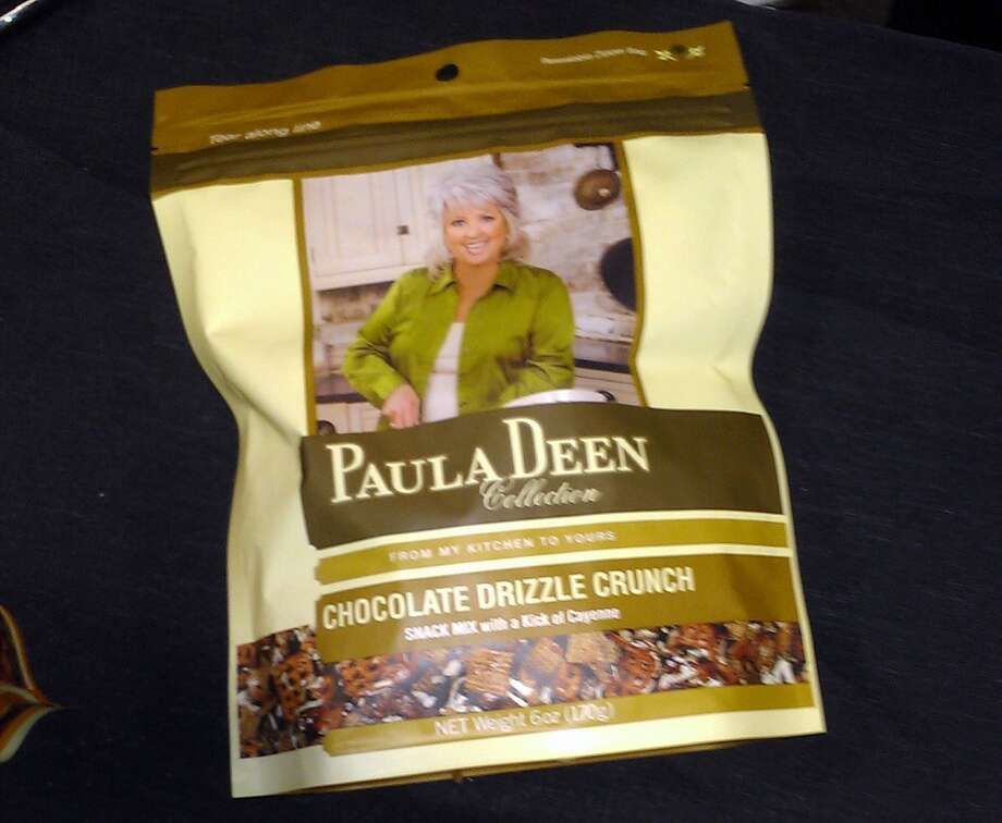 The doyenne of southern cooking, Paula Deen, has jumped onto the Chex Mix bandwagon. She's put her mark on snazzed up versions of Chex Mix-like snacks such as Chocolate Drizzle Crunch.