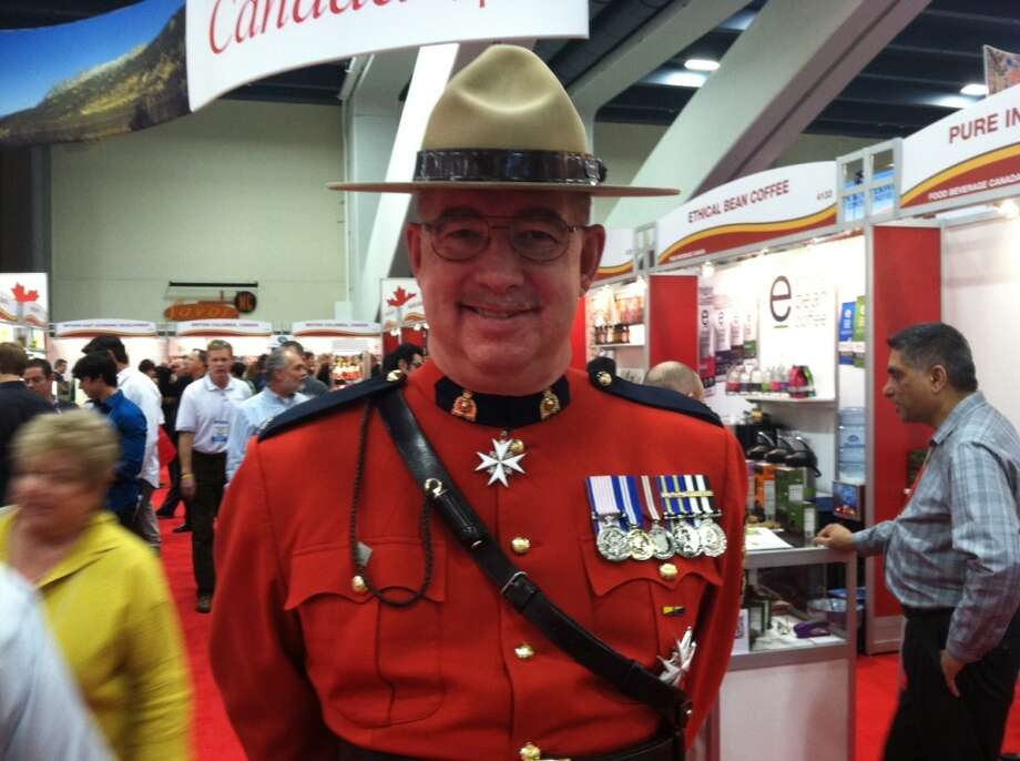 Meet Canadian Mountie Sgt. Bob Underhill. The ladies love him. Look at all his medals!