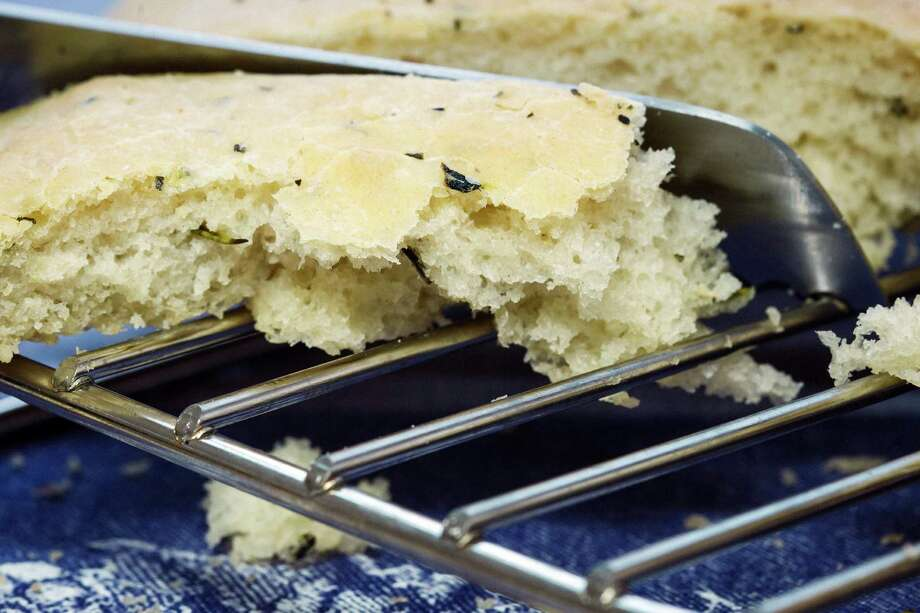 You can switch up the spices in this focaccia-bread recipe. Photo: Michael Paulsen, Staff / © 2013 Houston Chronicle