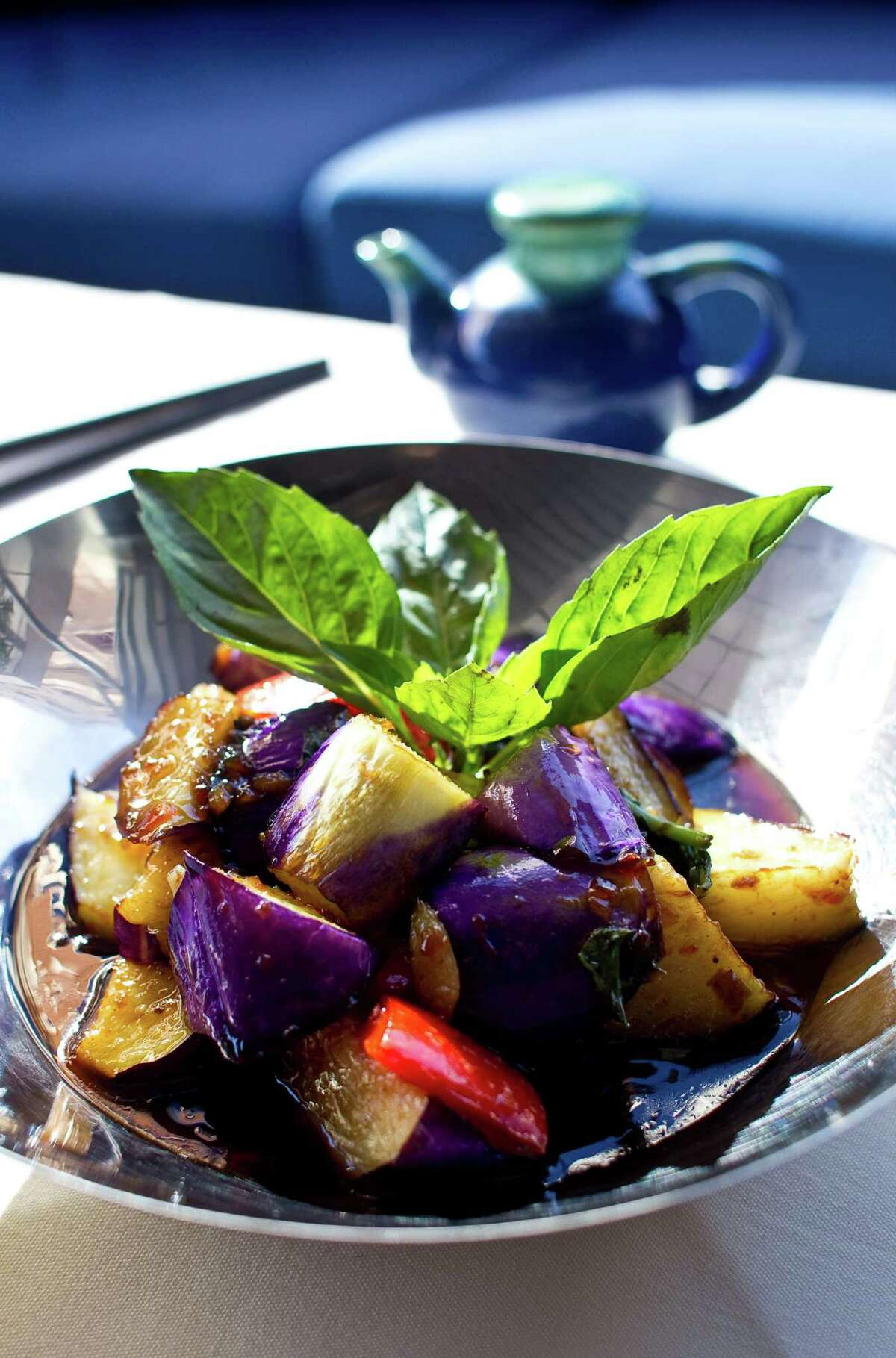 Wok Chinese Eggplant.