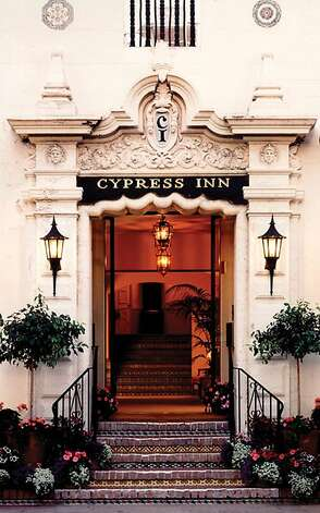 Originally opened in 1929 as the Hotel La Ribera, the Cypress Inn, which is known for being pet friendly, was purchased by actress Doris Day and businessman Dennis LeVett in the mid-80s. Photo: Cypress Inn