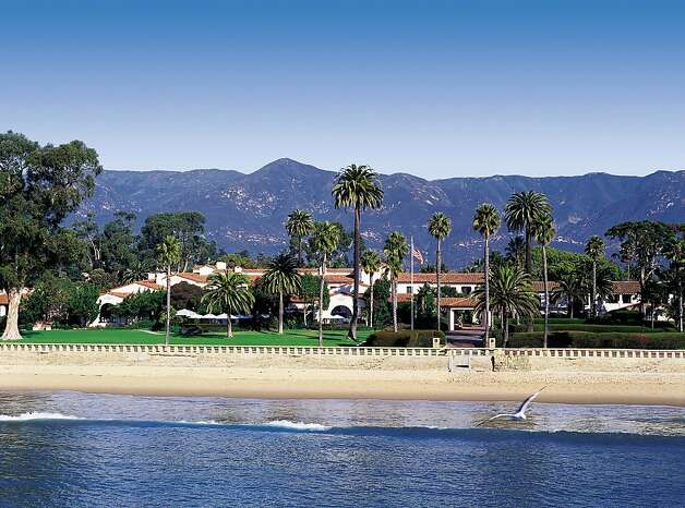 Now billed as the Four Seasons Resort The Biltmore Santa Barbara, this popular hotel has hosted celebrities looking for a respite from Hollywood for decades. Photo: Four Seasons