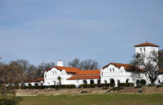 Julia Morgan designed Hearst's Hacienda, creating a reflection of Mission San Antonio de Padua just down the hill. Photo: Christine Delsol, Special To SFGate