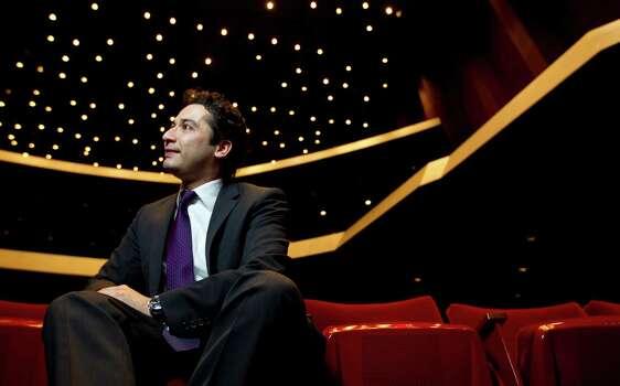 The Houston Symphony's newly announced music director, Andrés Orozco-Estrada Photo: Karen Warren, Staff / © 2013 Houston Chronicle