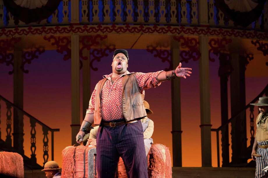 """Morris Robinson stars as Joe in Houston Grand Opera's """"Show Boat"""" at the Wortham Theater Center. Photo: Felix Sanchez, Photographer / 2012 all rights reserved"""
