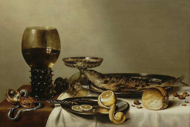 """Still Life With a Roemer and Watch"" (1629) by Willem Heda Photo: Unknown"