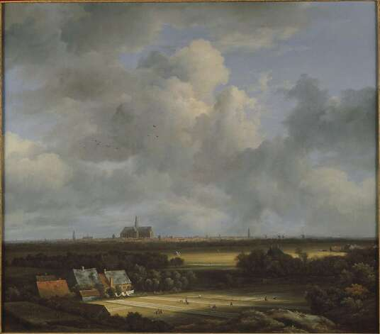 "View of Haarlem With Bleaching Grounds"" (c. 1670-1675) by Jacob van Ruisdael Photo: Unknown"