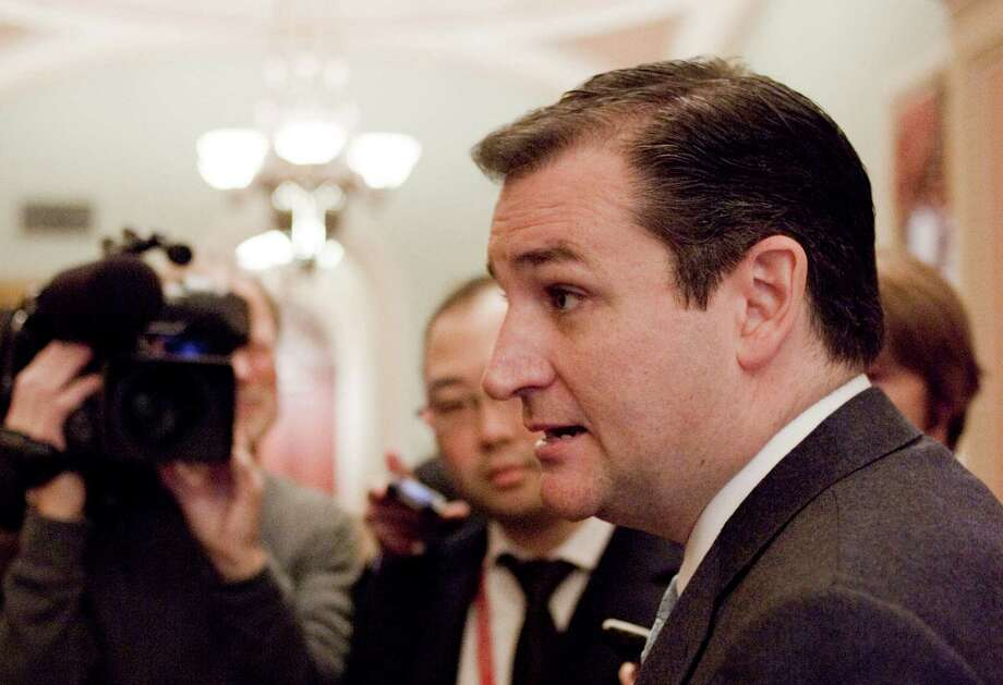 "For Sen. Ted Cruz, R-Texas, step one is ""securing the border,"" but he thinks that both parties are too busy trying to demagogue the issue to get even this done. Photo: Harry Hamburg, Associated Press / FR170004 AP"