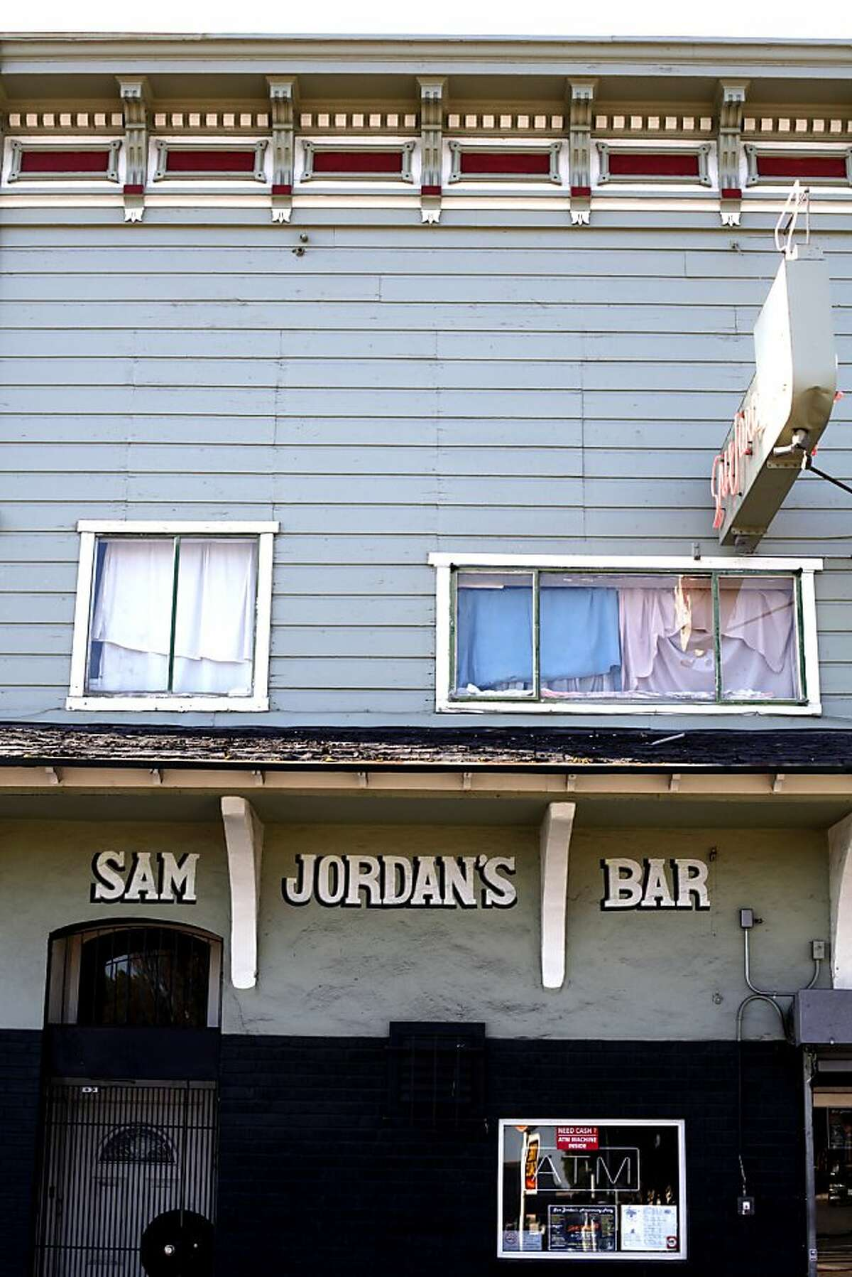 Sam Jordan's Bar is shown in San Francisco, Calif., Monday, January 21, 2013. The bar recently obtained landmark status.