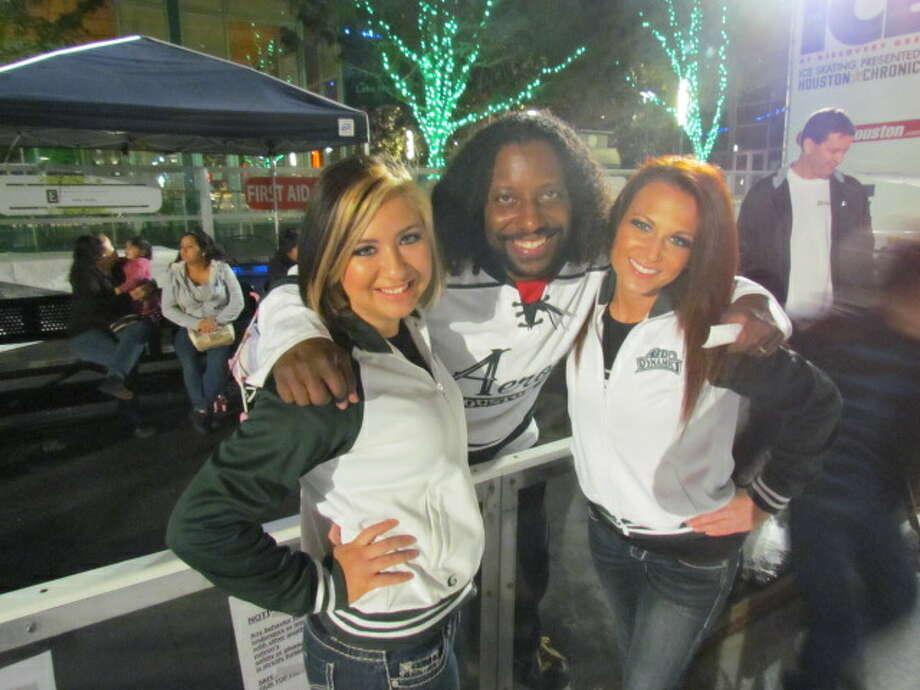 Ashley, Ojinga Green and Tabitha.