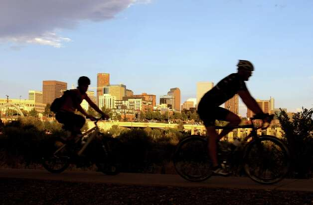3. Denver: A 'great and affordable social life,' with the most bars per capita. Photo: Doug Pensinger, Getty Images / 2008 Getty Images