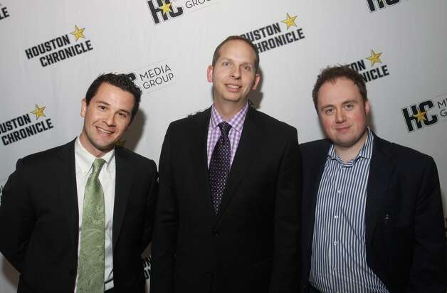 Jeremy Bravo,  from left,  Rob Cravaritis and David Weiss.