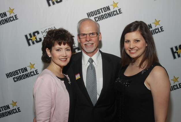 Jody Skinner,  from left,  Virgil Skinner and Katherine Skinner.