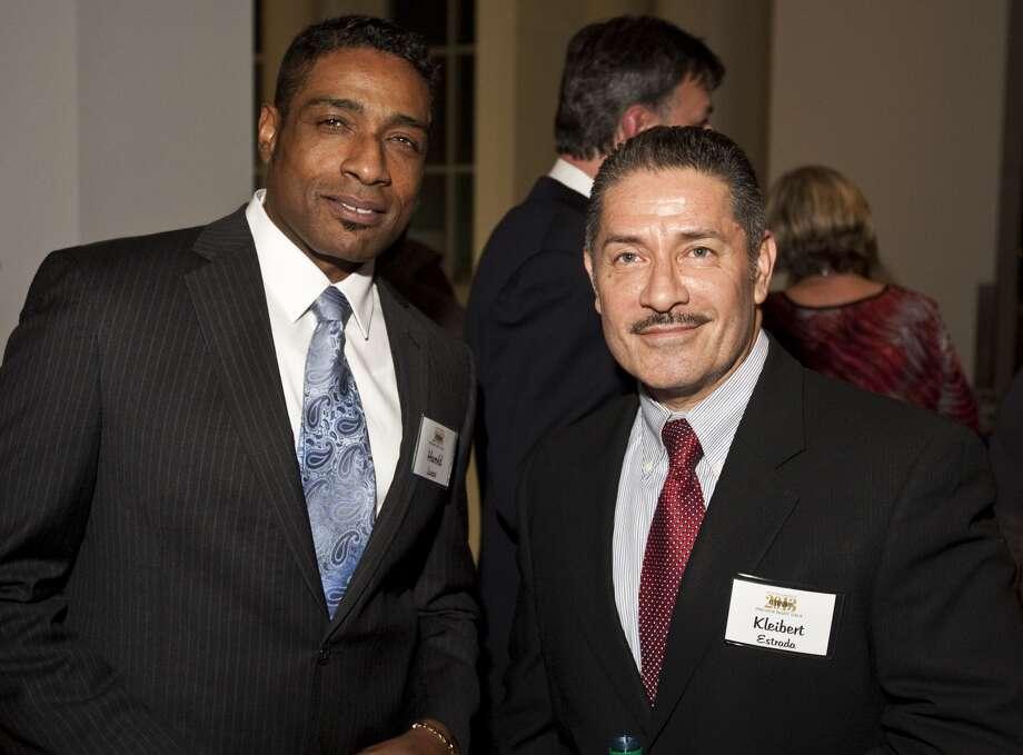 Harold Lucas and Kleibert Estrada