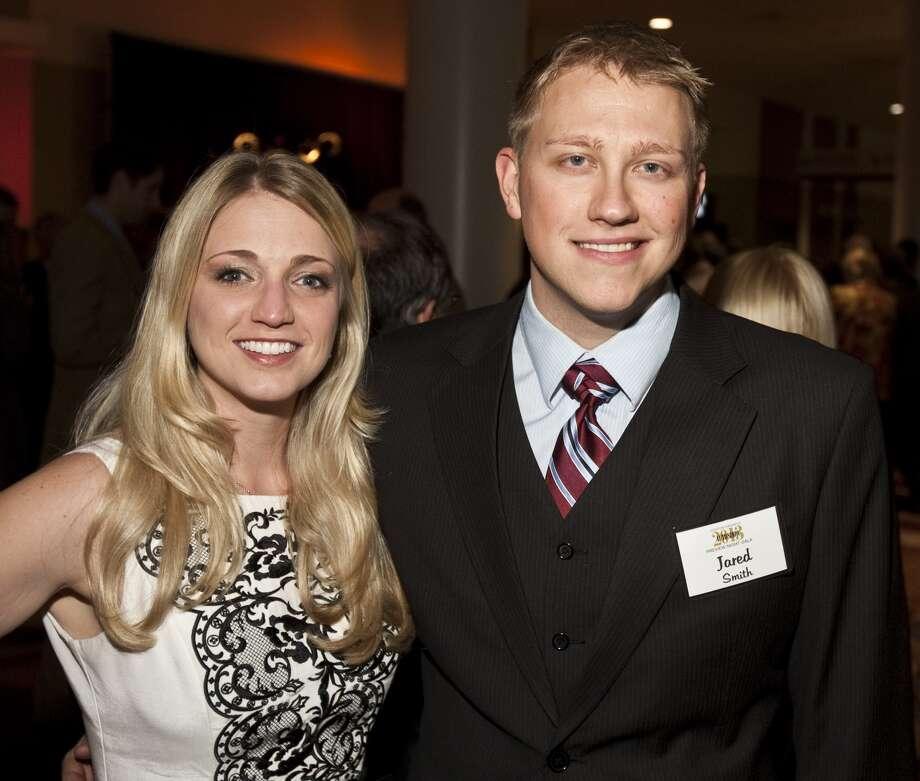 Clare Stibora and Brad Kellogg