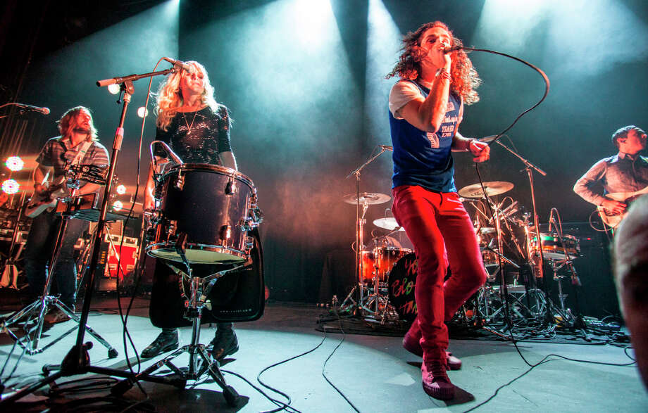 Youngblood Hawke performs at the Warfield in San Francisco on January 11, 2013. Photo: Grady Brannan / Butchershop Creative Archive all rights reserved