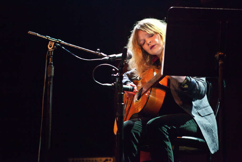 Jessica Pratt performs at the Great American Music Hall in San Francisco on January 16, 2013. Photo: Lance Skundrich / Butchershop Creative Archive all rights reserved