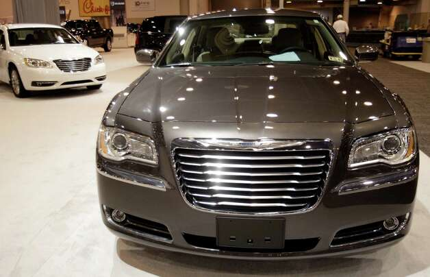 A Chrysler 300 shown at the Houston Auto Show in Reliant Center, Tuesday, Jan. 22, 2013, in Houston.  The show runs from Jan. 23 through Jan. 27. Photo: Melissa Phillip, Houston Chronicle / © 2013 Houston Chronicle
