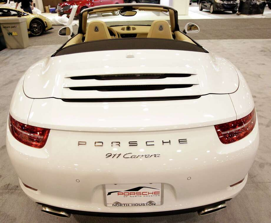 A Porsche 911 Carrera shown at the Houston Auto Show in Reliant Center, Tuesday, Jan. 22, 2013, in Houston.  The show runs from Jan. 23 through Jan. 27. Photo: Melissa Phillip, Houston Chronicle / © 2013 Houston Chronicle