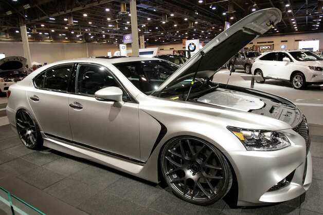 A Lexus Project LS F Sport shown at the Houston Auto Show in Reliant Center, Tuesday, Jan. 22, 2013, in Houston.  The show runs from Jan. 23 through Jan. 27. Photo: Melissa Phillip, Houston Chronicle / © 2013 Houston Chronicle