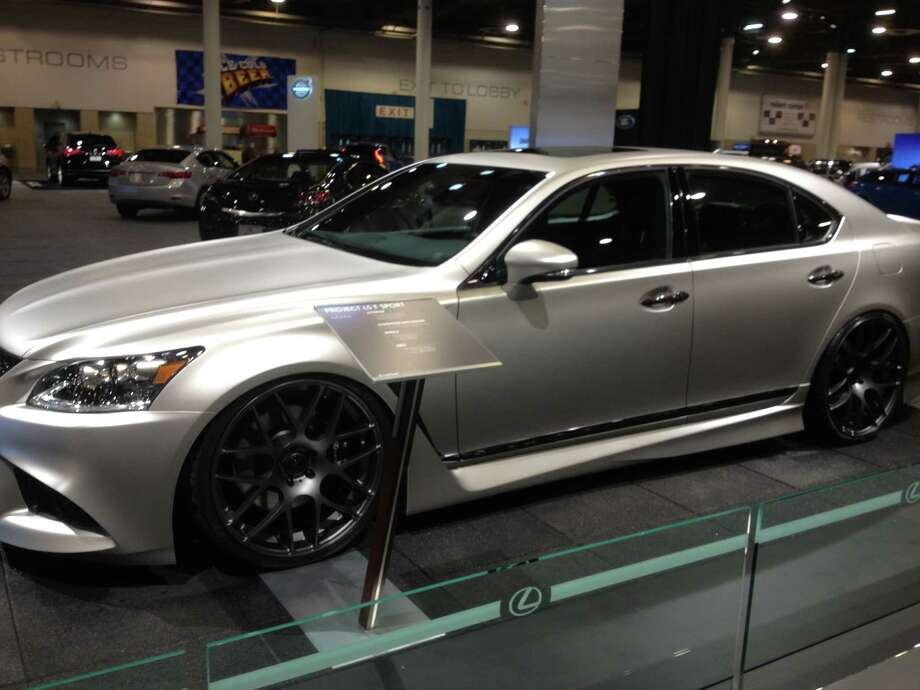 Lexus was showing off its Project LS F Sport. The car has plenty of style and creativity. Photo: Dan X. McGraw