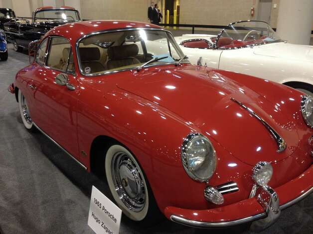 A 1965 Porsche is one of a handful of classic cars being shown at the auto show. Photo: Dan X. McGraw