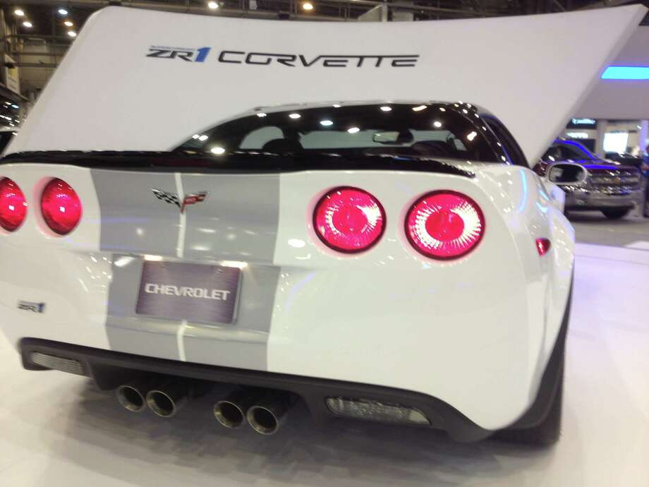 The 2014 Corvette Stingray didn't make the journey to Houston, but the Corvette ZR1 did. Photo: Dan X. McGraw