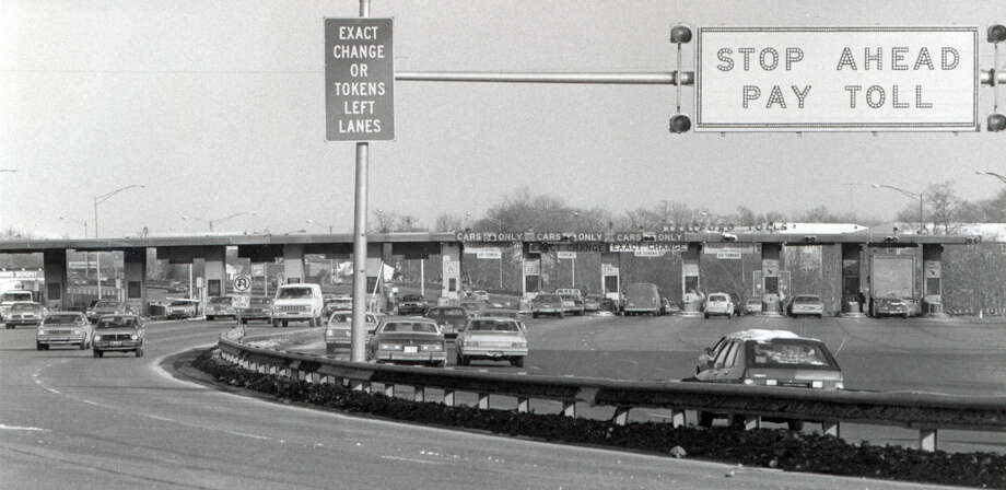 The Stratford toll plaza, on I-95 in Stratford, Conn. An accident at the plaza on Jan. 19th, 1982 killed seven people. Photo: File Photo