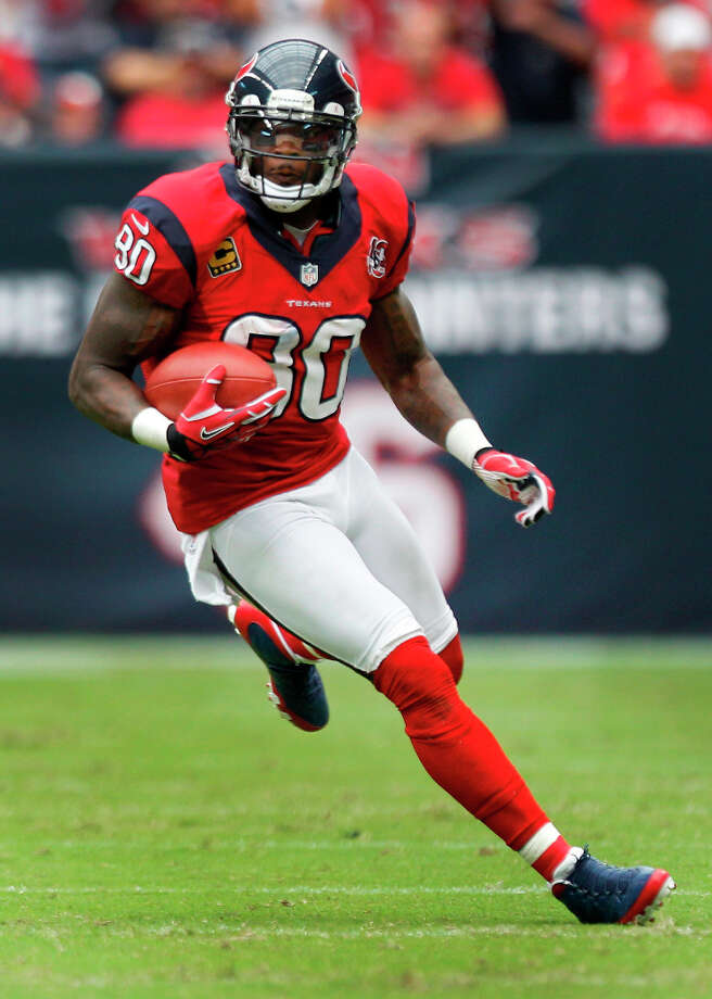 2013Wide receiver Andre Johnson was selected as a starter to his sixth Pro Bowl. Photo: Brett Coomer, Houston Chronicle / © 2012  Houston Chronicle