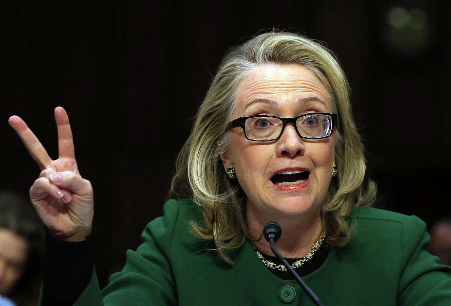 U.S. Secretary of State Hillary Clinton testifies before the Senate Foreign Relations Committee on C