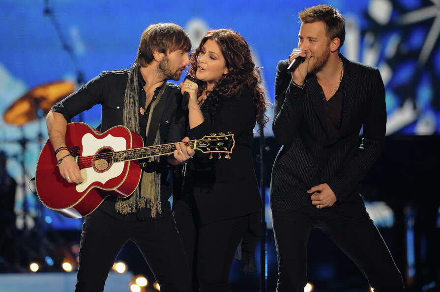 Lady Antebellum peforms during the American Country Awards on Monday, Dec. 10, 2012, in Las Vegas. (