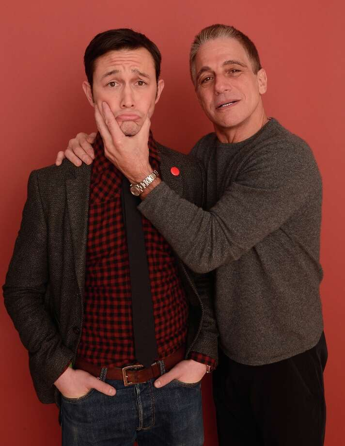 (L-R) Actor/filmmaker Joseph Gordon-Levitt and actor Tony Danza from the film Don Jon's Addiction pose for a portrait during the 2013 Sundance Film Festival at the Getty Images Portrait Studio at Village at the Lift on January 19, 2013 in Park City, Utah. Photo: Larry Busacca, Getty Images / 2013 Getty Images