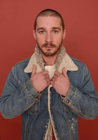 Actor Shia LaBeouf from the film The Necessary Death of Charlie Countryman poses for a portrait during the 2013 Sundance Film Festival at the Getty Images Portrait Studio at Village at the Lift on January 22, 2013 in Park City, Utah. Photo: Larry Busacca, Getty Images / 2013 Getty Images