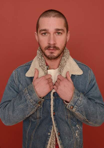 Actor Shia LaBeouf from the film The Necessary Death of Charlie Countryman poses for a portrait duri