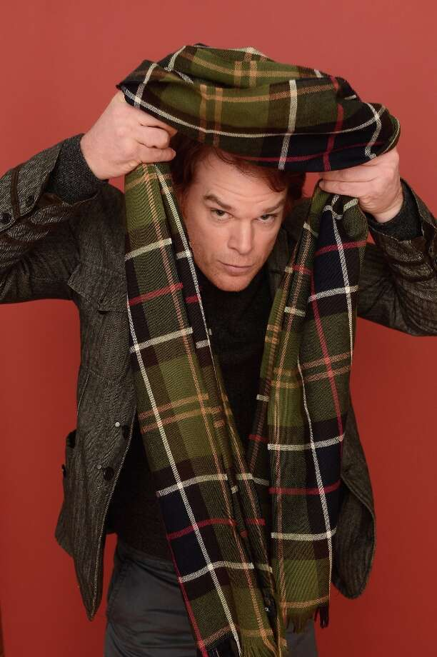 Actor Michael C. Hall from the film Kill Your Darlings poses for a portrait during the 2013 Sundance Film Festival at the Getty Images Portrait Studio at Village at the Lift on January 18, 2013 in Park City, Utah. Photo: Larry Busacca, Getty Images / 2013 Getty Images
