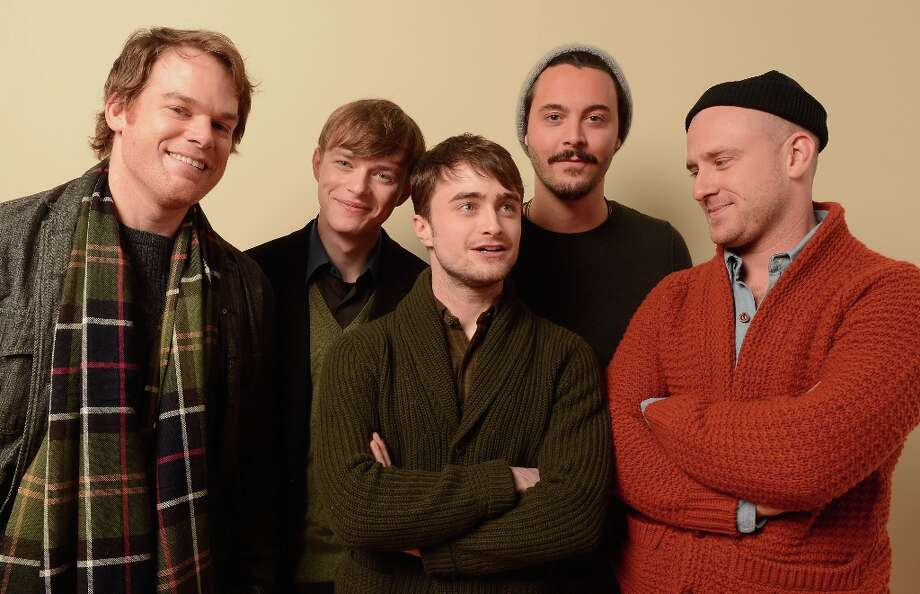 (L-R) Actors Michael C. Hall, Dane DeHaan, Daniel Radcliffe, Jack Huston and Ben Foster from the film Kill Your Darlings pose for a portrait during the 2013 Sundance Film Festival at the Getty Images Portrait Studio at Village at the Lift on January 18, 2013 in Park City, Utah. Photo: Larry Busacca, Getty Images / 2013 Getty Images