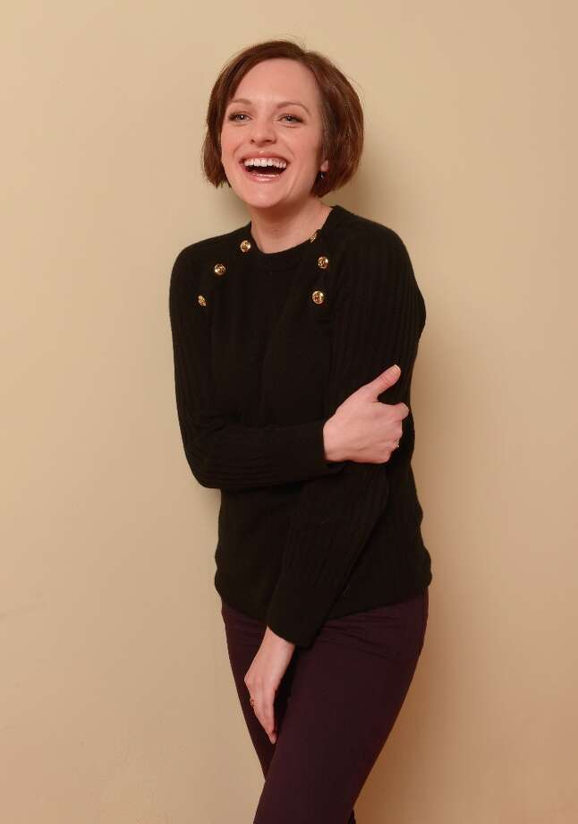 Actress Elisabeth Moss from the film Top of the Lake poses for a portrait during the 2013 Sundance Film Festival at the Getty Images Portrait Studio at Village at the Lift on January 19, 2013 in Park City, Utah. Photo: Larry Busacca, Getty Images / 2013 Getty Images