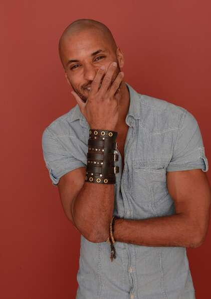 Actor Ricky Whittle from Austenland poses for a portrait during the 2013 Sundance Film Festival at t
