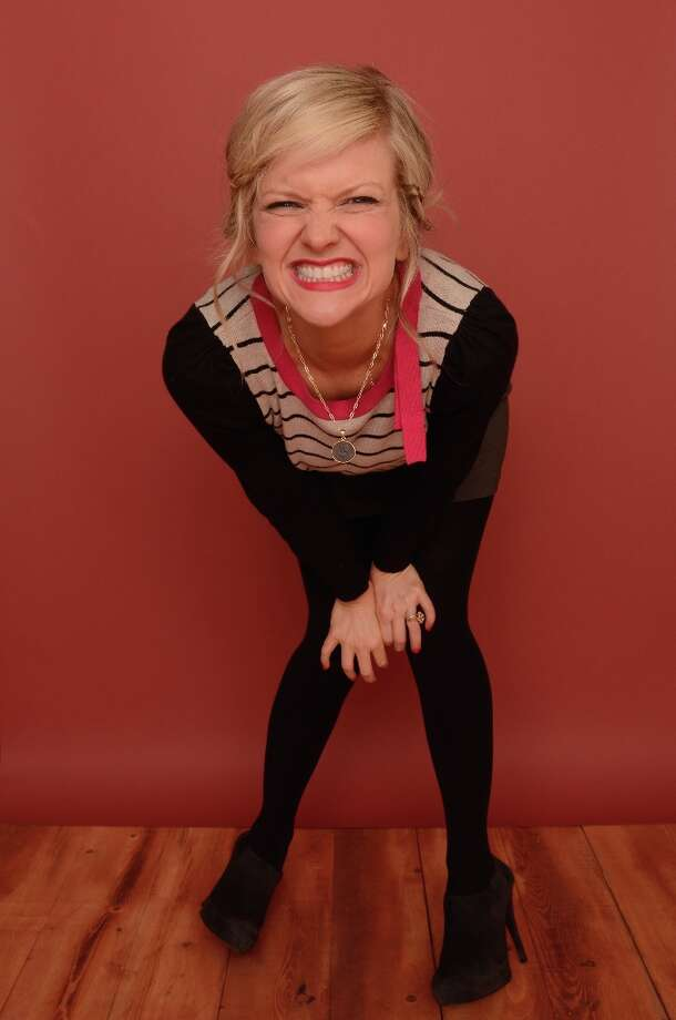 Actress Arden Myrin from Wrong Cops poses for a portrait during the 2013 Sundance Film Festival at the Getty Images Portrait Studio at Village at the Lift on January 21, 2013 in Park City, Utah. Photo: Larry Busacca, Getty Images / 2013 Getty Images