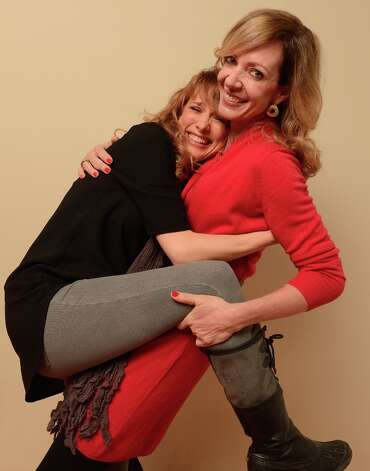 (L-R) Director/writer Lynn Shelton and actress Allison Janney from Touchy Feely pose for a portrait during the 2013 Sundance Film Festival at the Getty Images Portrait Studio at Village at the Lift on January 19, 2013 in Park City, Utah. Photo: Larry Busacca, Getty Images / 2013 Getty Images