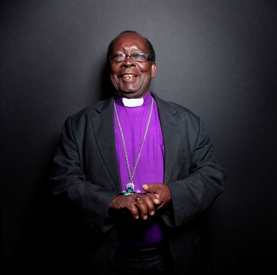 Bishop Christopher Senyonjo from the film God Loves Uganda poses for a portrait during the 2013 Sundance Film Festival on Sunday, Jan. 20, 2013 in Park City, Utah. (Photo by Victoria Will/Invision/AP Images) Photo: Victoria Will, Associated Press / Invision