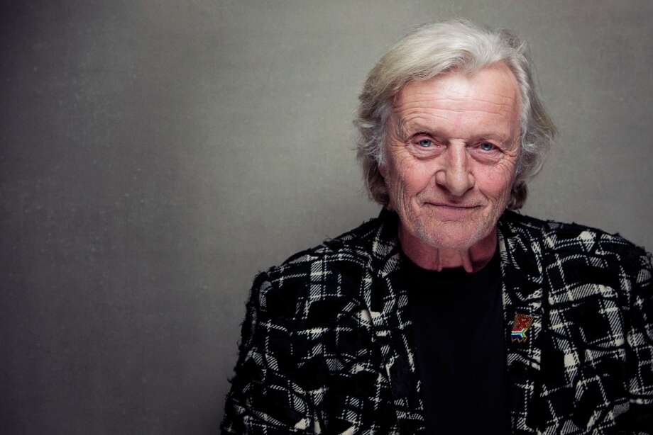 Rutger Hauer from the film Il Futuro, poses for a portrait during the 2013 Sundance Film Festival at the Fender Music Lodge, on  Saturday, Jan. 20, 2013,, in Park City, Utah. (Photo by Victoria Will/Invision/AP Images) Photo: Victoria Will, Associated Press / Invision